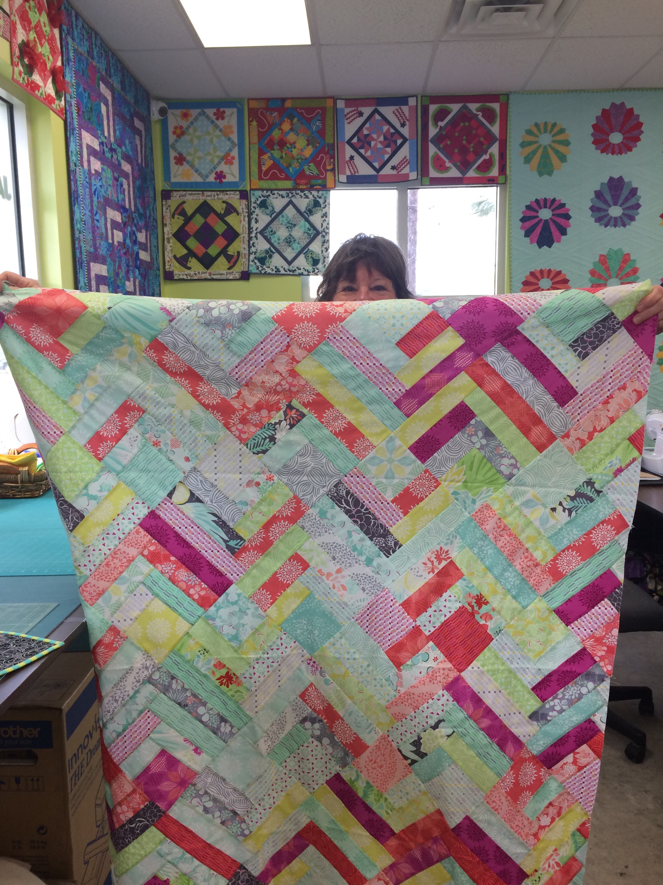 lazy Sunday | may chappell : making a picture quilt - Adamdwight.com